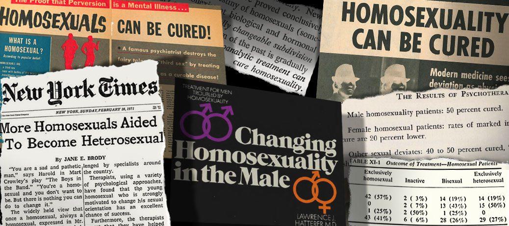homoszexualitás kezelése